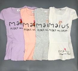 پیراهن استین کوتاه طرح Malus