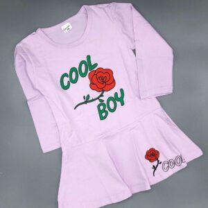 پیراهن استین بلند طرح Cool Boy