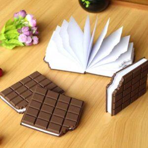 دفترچه عطری شکلاتی