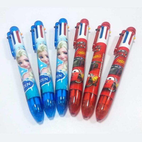 خودکار 6 رنگ