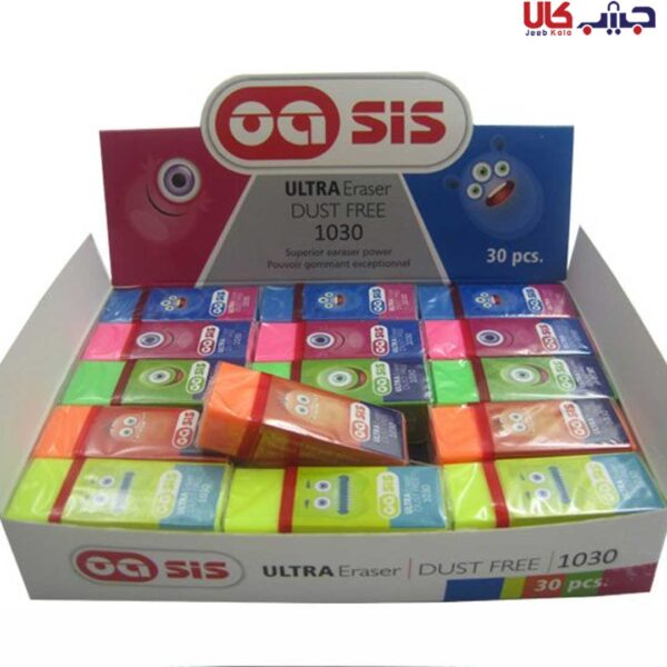 پاک کن های رنگی oasis مدل 1030