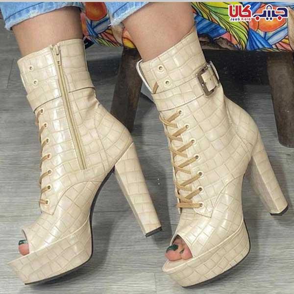 کفش پاشنه 10 سانت بندی کد 2277