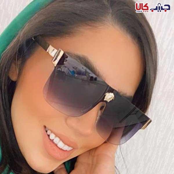 عینک UV400 ورساچه دودی سایه روشن کد E1152