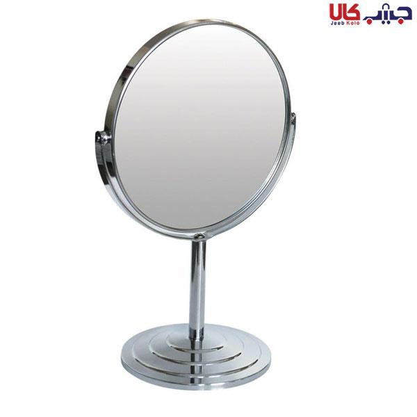 آینه رو میزی فلزی گرد لوپینا