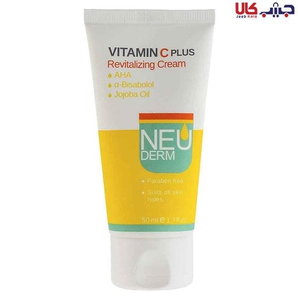 کرم ویتامین سی پلاس نئودرم 50ml