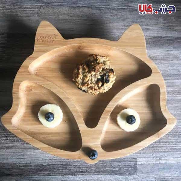 ظرف غذای کودک طرح روباه